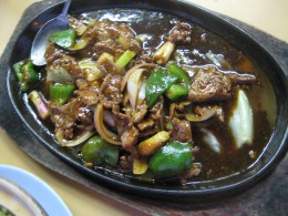 Beef in Black Pepper Sauce