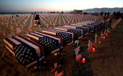 The loss of American lives in the Iraq War is what makes my heart ache, particularly when I realize that the justification and benefits of this war are so small.