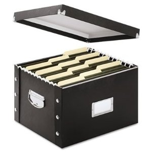 A typical document storage box