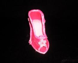 Edible Glitter on Shoe Cake Topper