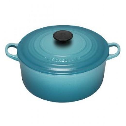 Le Creuset Dutch oven blue
