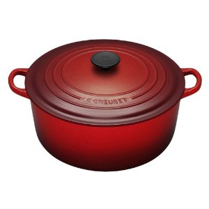 Le Creuset Dutch oven red