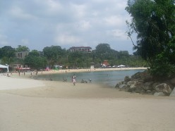 Palawan Beach, Sentosa Island.