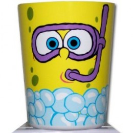 Spongebob bathroom decor