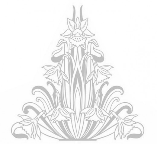 Online Flower Bouquet Coloring Pages and Free Colouring Pictures to Print - Floral Arrangement