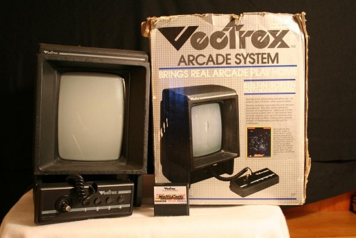 The box is battered but the Vectrex unit is still going strong...