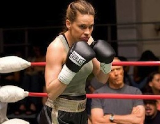 "Hilary Swank ""Million Dollar Baby"""