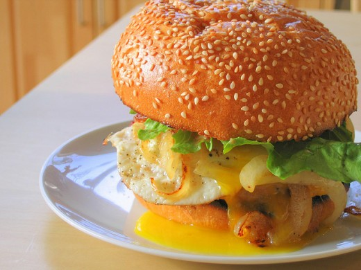 Fast food is the main source of bad cholesterol