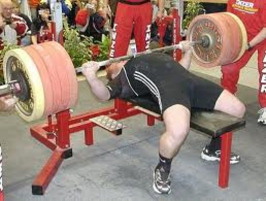 Bench press like a powerlifter. It's a whole body exercise!