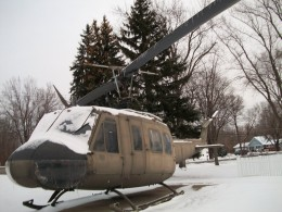 Bell UH-1 Iroquois, at Wheatfield, New York