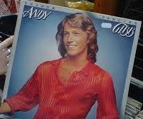 Andy Gibb album cover. Vintage!
