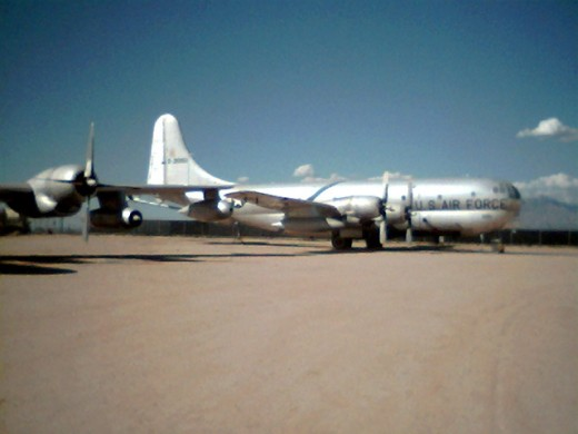 A KC-97 Air Tanker at Pima Air and Space Museum