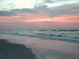 Sunset On The Beach Hilton Head Island South Carolina