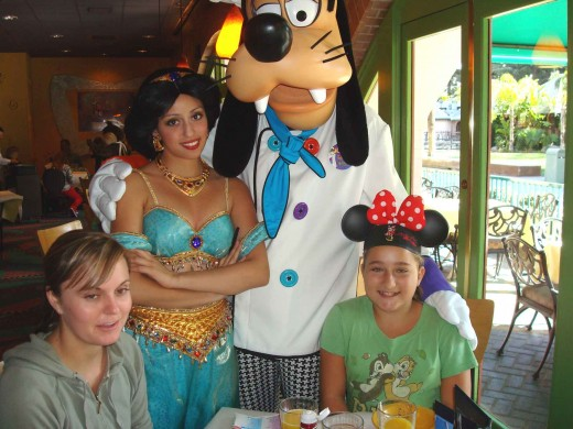 At Goofy's Kitchen