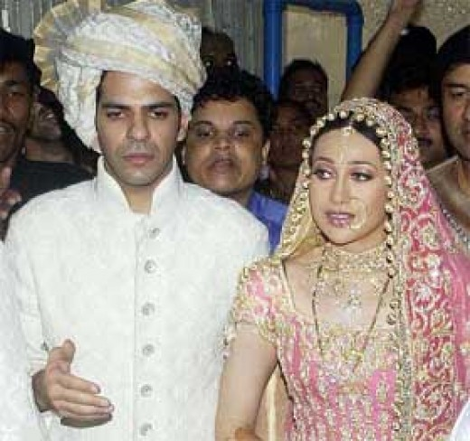 Karishma with Husband