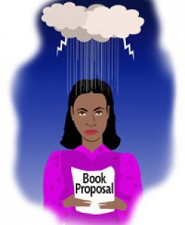 Sometimes, Literary Agents just rain on your parade!