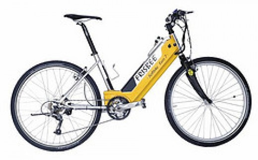 Just one of a variety of electric cycle models