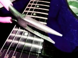 - Clip Old Strings -