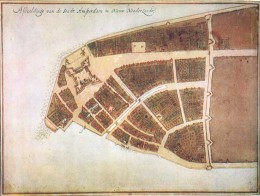 New Amsterdam was a Holland new world fort when the British took over and renamed it New York in 1666. Coincidentally, the great London Fire occurred in the same year in Britain.