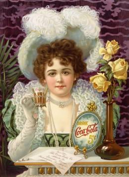 Coca-cola's first advertisement, 1895