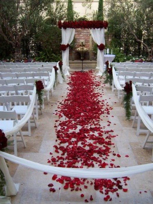Indoor and Outdoor Wedding Ceremony Decorations