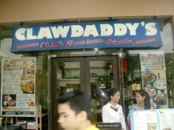Dining-in Clawdaddy Crab House and American Grill Another American Inspired Resto in the Philippines