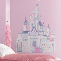 Decorating  Bedroom on Princess Themed Bedroom   Disney Princess Wall Decals   Murals