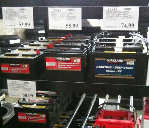 Costco car battery prices uk graph