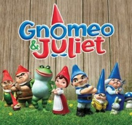 Gnomeo and Juliet - one of my family's favorite new animated movies