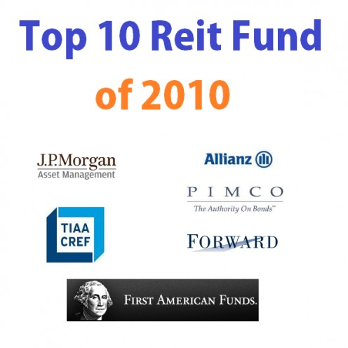Top 10 REIT Funds Logo