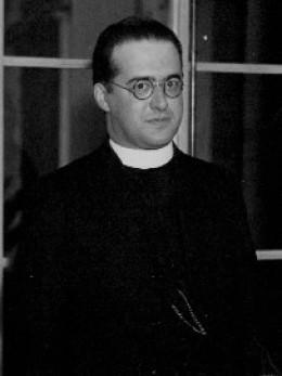 Georges Lemaitre, catholic priest