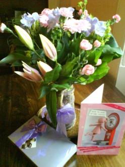 Mother's Day celebration.