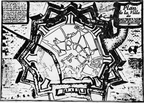Maubeuge Citadel by Vauban, 1680