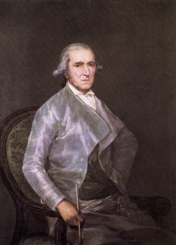 Francesco Bayeu by Francisco Goya