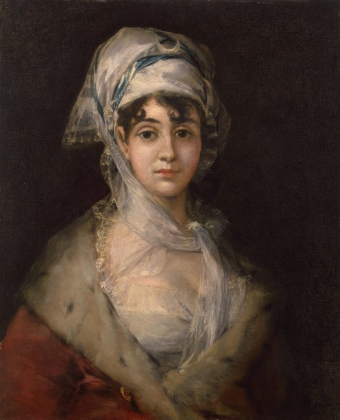 Potrait of Actress Antonia Zarate - Goya