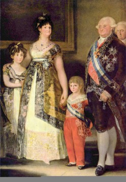 Charles IV and Family- Goya