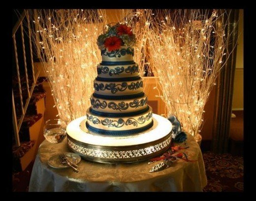 Wedding Cake Table Display Ideas
