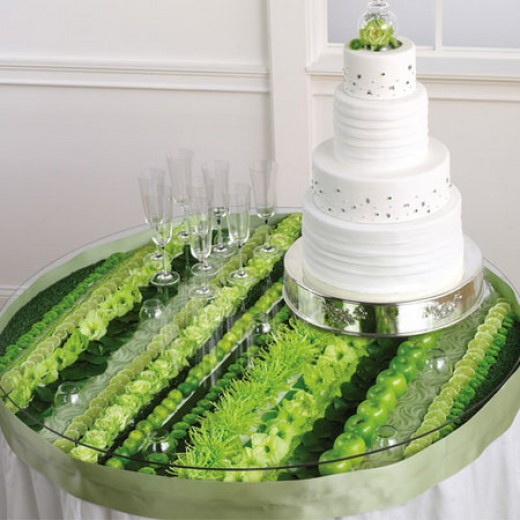 Wedding Cake Table Display Ideas