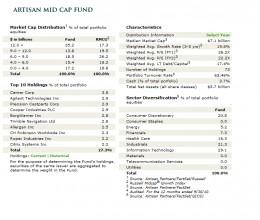 Artisan Mid Cap Holdings