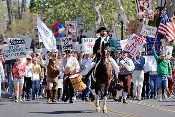 The Tea Party sprung up seemingly from nowhere, but there is a deep seated and long history behind the movement.