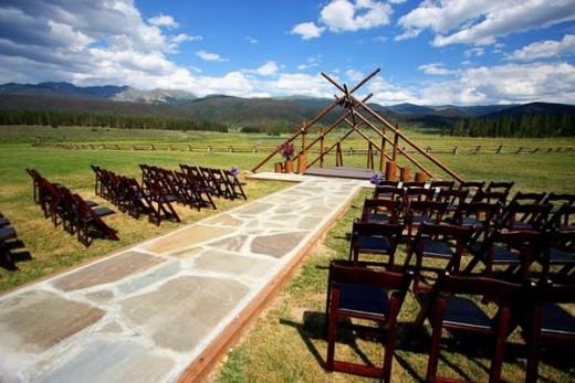 Wedding Ceremony Decor Ideas with paper Wedding Ceremony Scenery as Decor