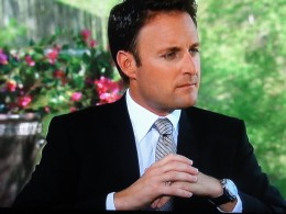 Chris Harrison and his ring