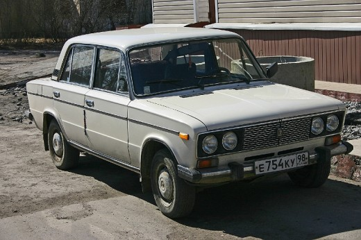 Lada the russian car that was sold in canada