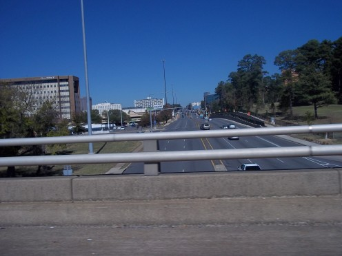 I-630 Interstate bridge over University Ave, Little Rock, AR