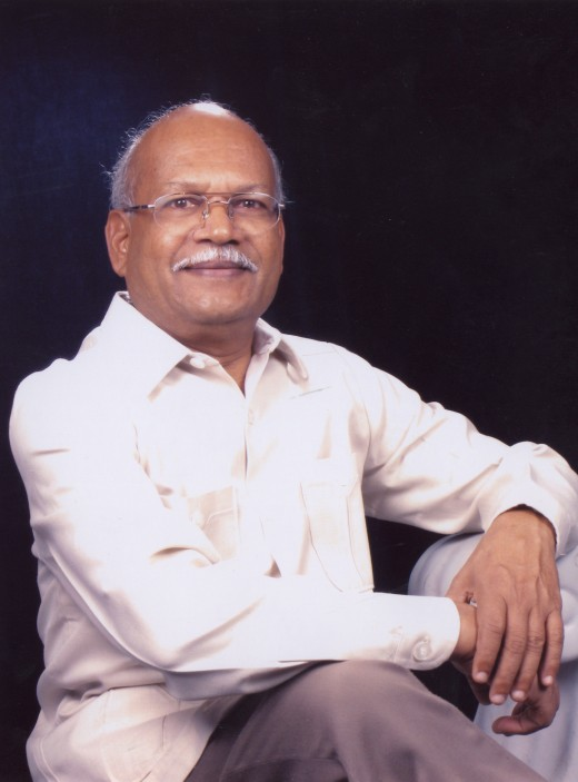 Prof.Hampa Nagarajaiah, recent photograph-2006