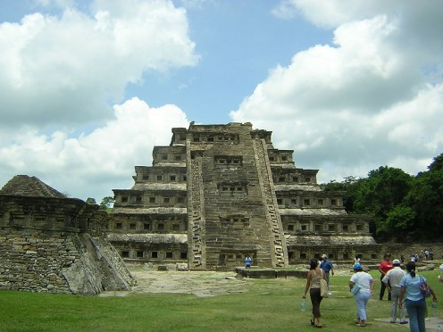 I think this is just amazing from the Maya.  One side gives a clearer view of the 365 niches.