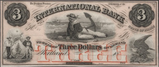 From the 1800s, the International Bank.