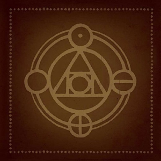 "Click link for more information on Thrice's ""The Alchemy Index"""