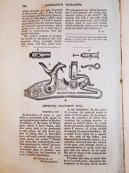 from Mechanic's Magazine, 1823