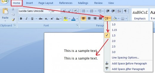 how to make word margins 1 inch